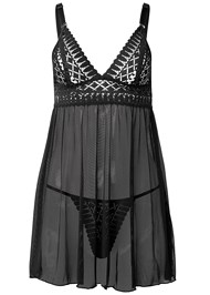 Ghost with background  view Geo Lace Babydoll
