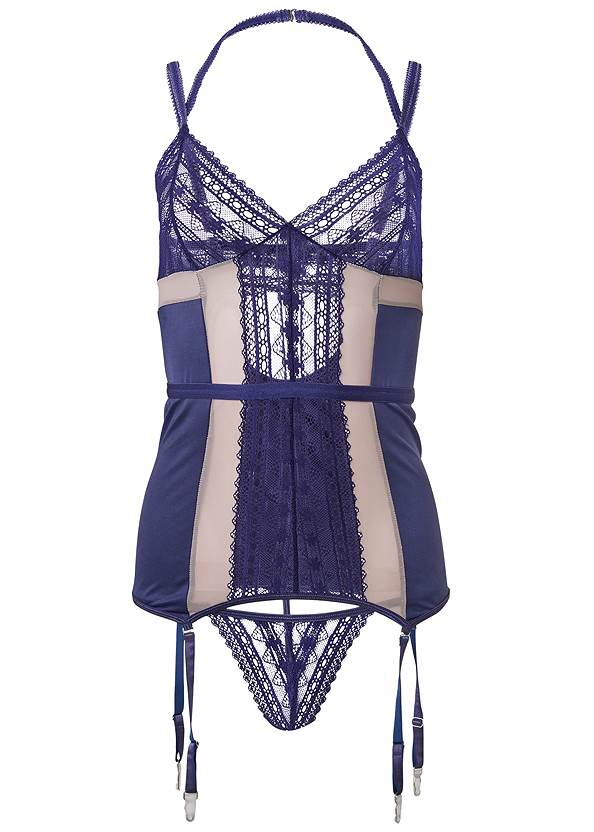 Ghost with background  view Geo Lace Chemise