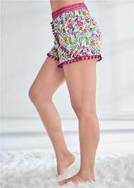 Alternate View Pom Pom Shorts