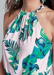 Alternate View Palm Print Top