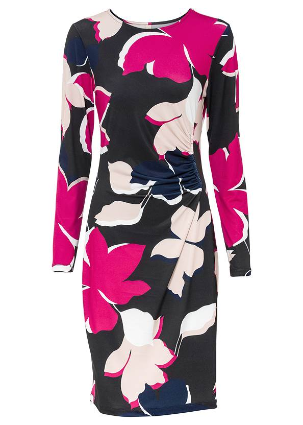Ghost front view Floral Printed Dress