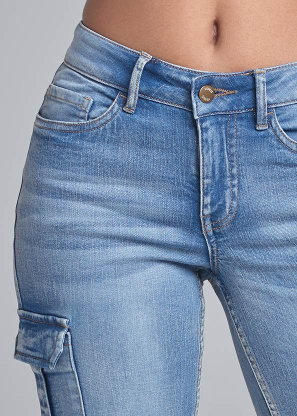 Alternate View Cropped Cargo Jean