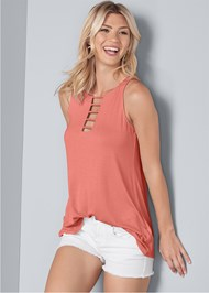 Front View Cut Out Detail Tank