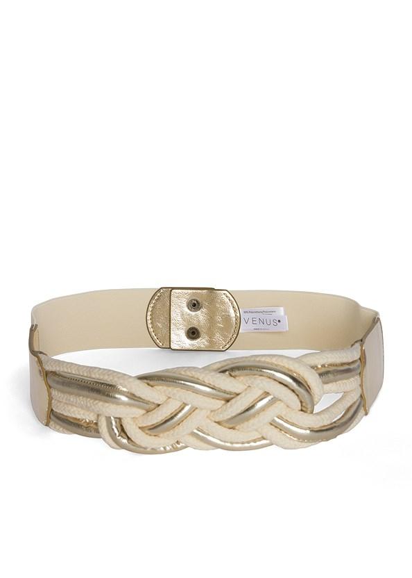 Braided Rope Waist Belt