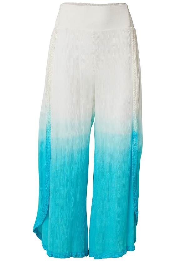 Ghost with background  view Ombre Coverup Bottoms