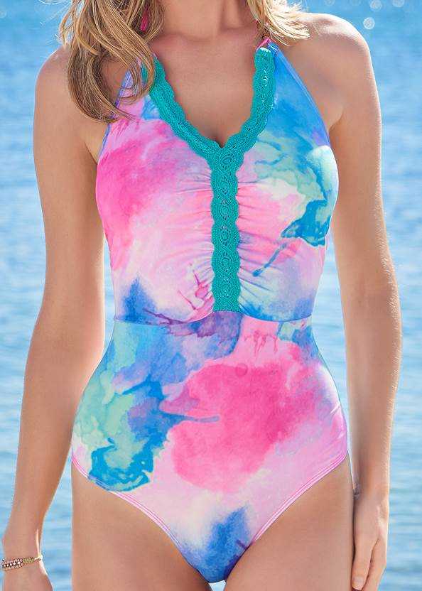 Detail front view Skye Sustainable One-Piece