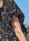 Alternate View Flutter Sleeve High Low Dress