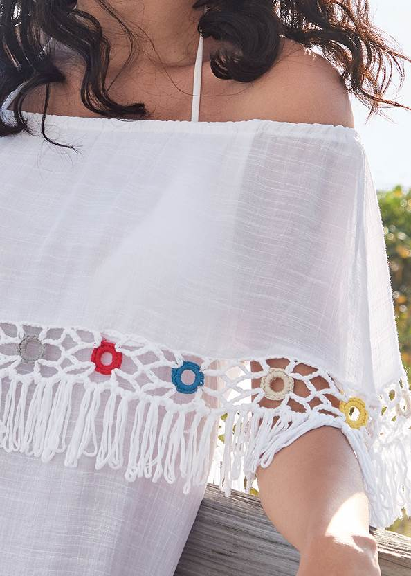 Detail front view Cover-Up Dress