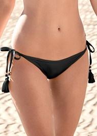 Detail front view Tassel Side Tie Bottom
