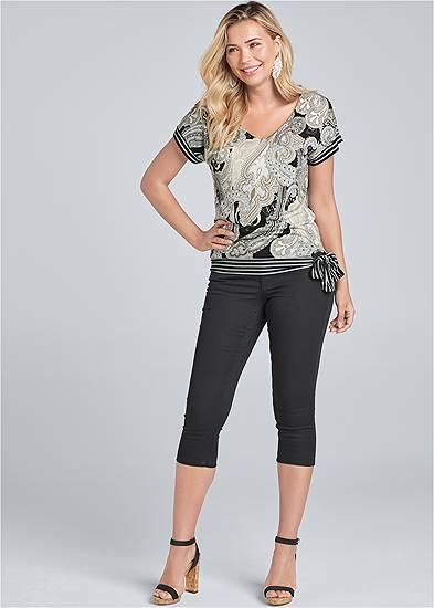 Color Capri Jeans