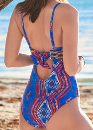Detail back view Elastic One-Piece