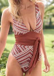 Detail front view Sustainable Giada One-Piece