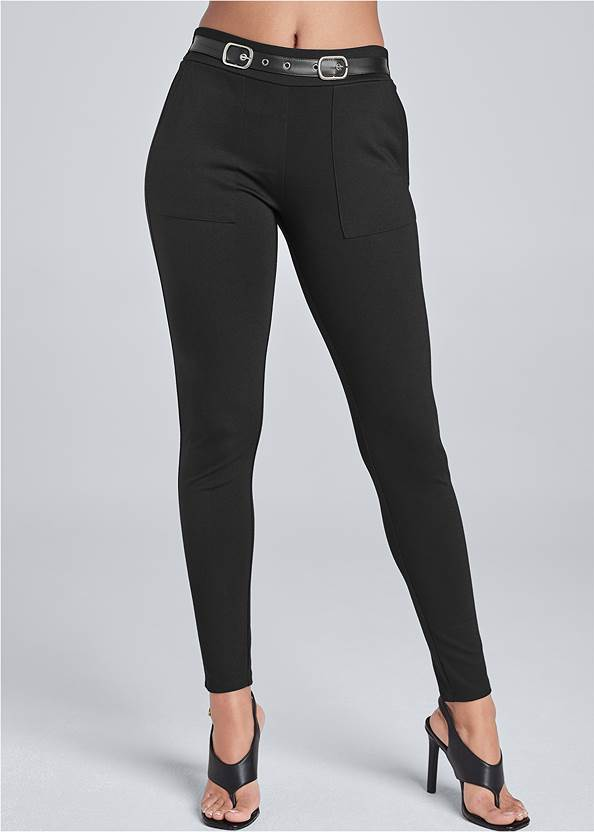 Alternate View Belted Skinny Pants