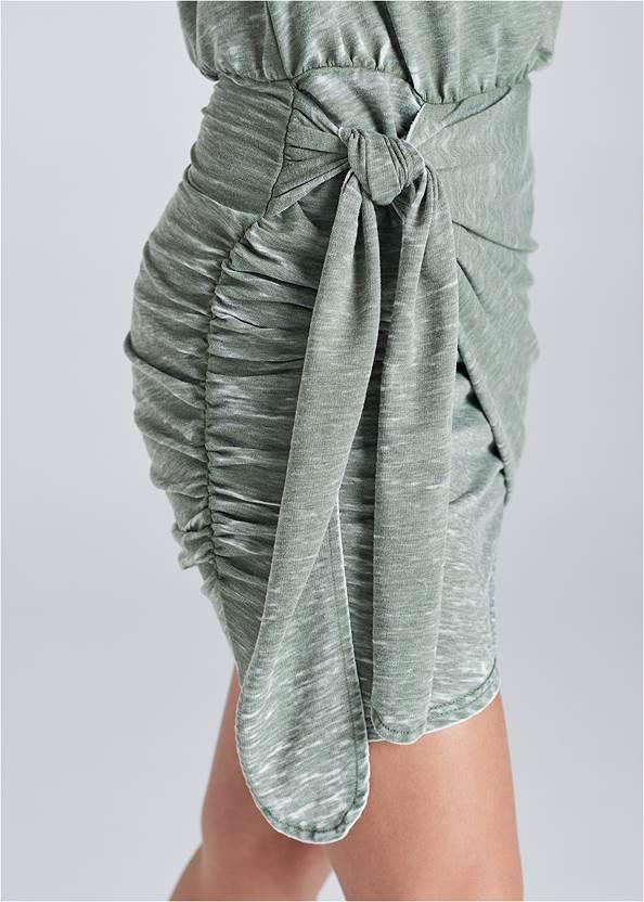 Detail  view Lounge Wrap Dress