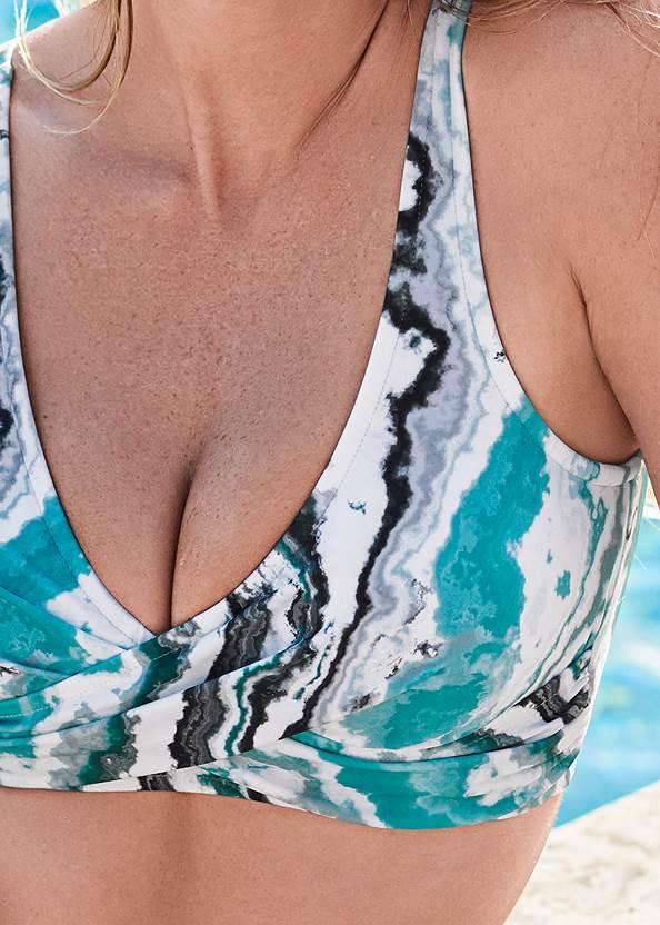 Detail front view Lovely Lift Wrap Bikini Top