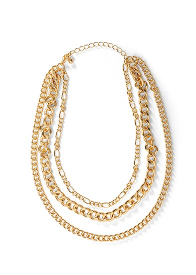 Chunky Chain Layer Necklace
