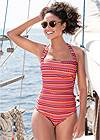 Full  view Slimming One-Piece