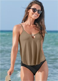 Full front view Rio Tankini Top