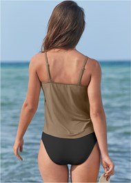 Full back view Rio Tankini Top