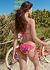 Full back view Triangle String Bikini Top