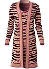 Ghost with background  view Tiger Print Duster Set