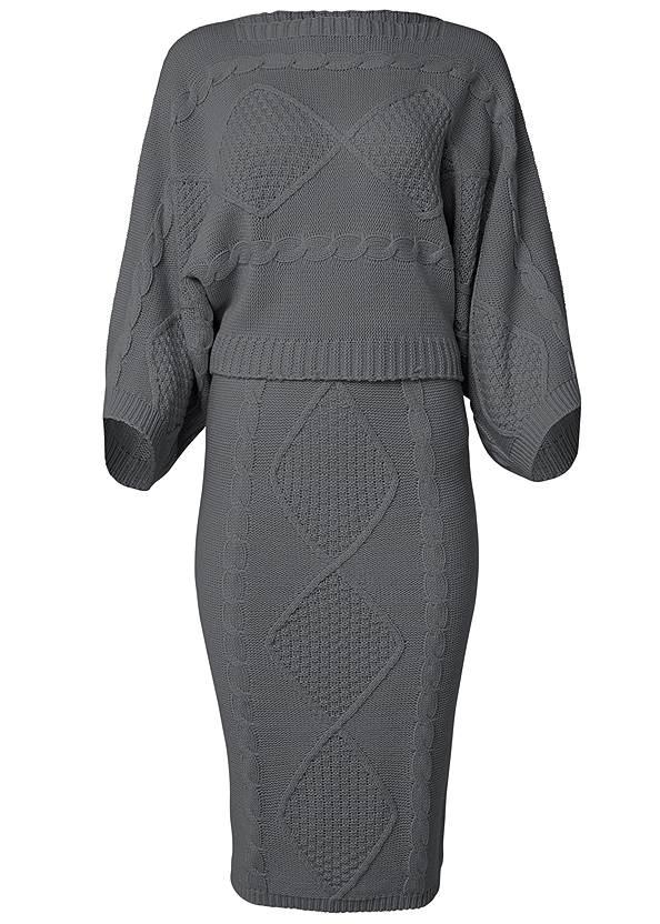Alternate View Two-Piece Sweater Dress