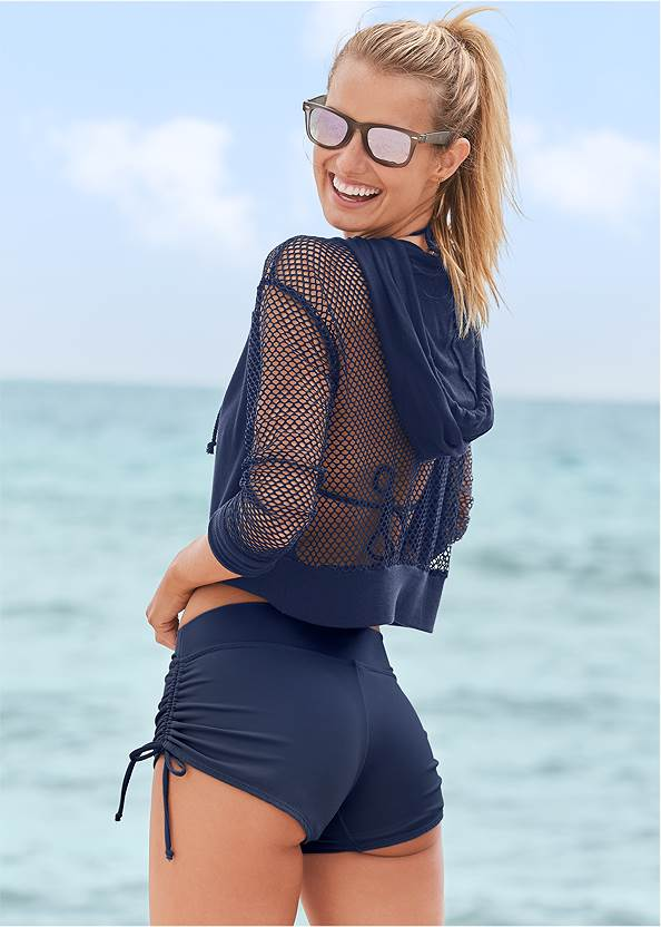 Back View Hoodie Cover-Up