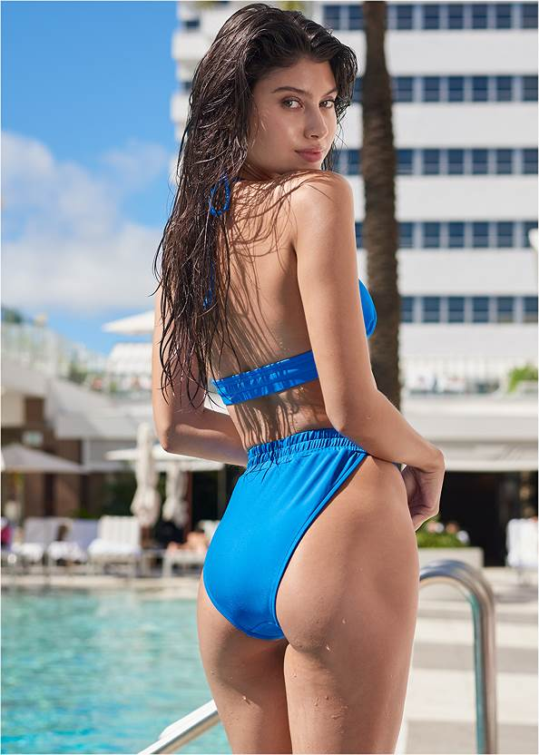 Full back view Beach Days Triangle Top