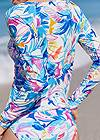 Detail back view Relaxed Fit Rash Guard
