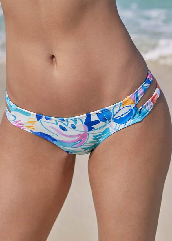 Alternate View Strappy Side Bikini Bottom