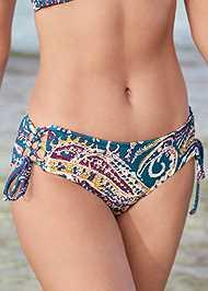 Detail front view Lattice Side Bikini Bottom