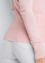 Alternate View Cut Out Detail Sweater