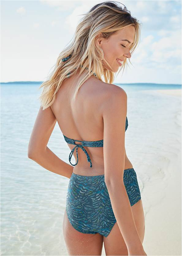 Full back view All Day Halter Top