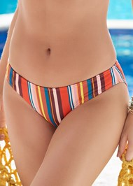 Detail front view Scoop Front Classic Bikini Bottom