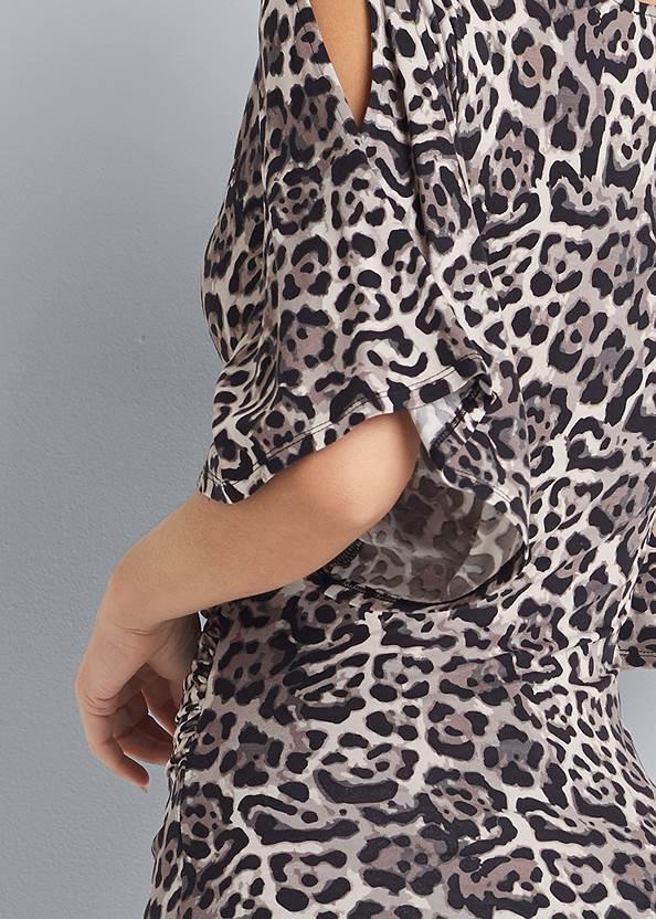 Alternate View Leopard Print Top