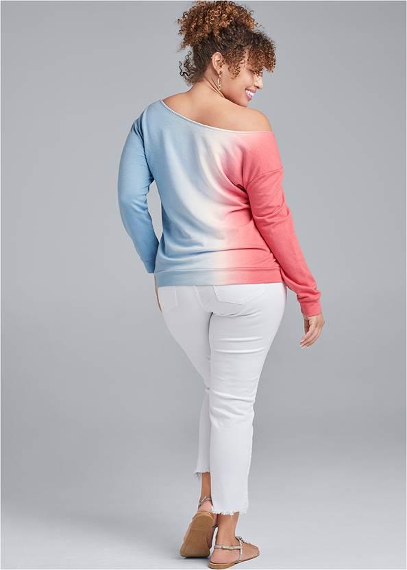 Alternate View Easy Off The Shoulder Sweatshirt