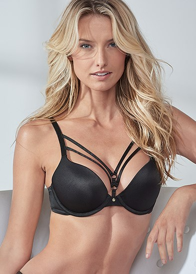 Pearl™ By Venus Strappy Push Up Bra