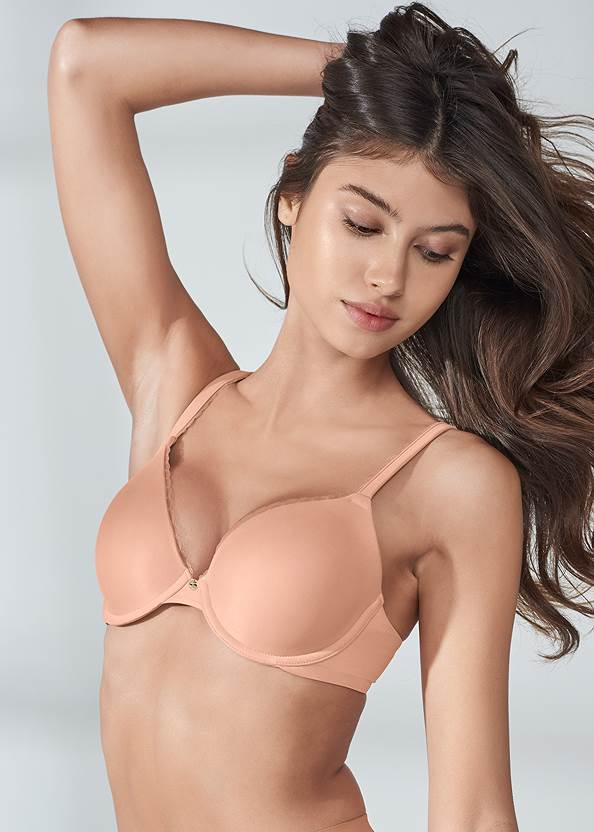Cropped front view Pearl™ By Venus Perfect Coverage Bra