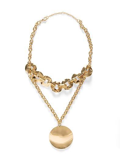Chunky Pendant Necklace