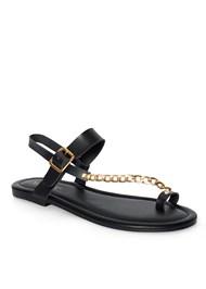 Detail  view Chain Strap Sandal
