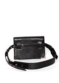 Back View Structured Belt Bag