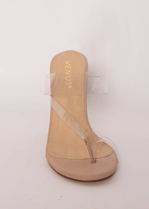 Shoe series  view Lucite Toe Loop Mule
