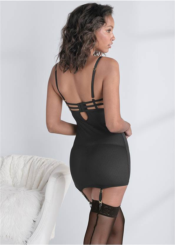 Cropped back view Strappy Detail Slip
