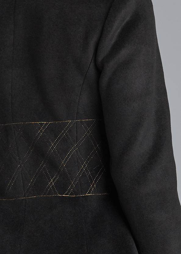 Detail back view Double Breasted Jacket