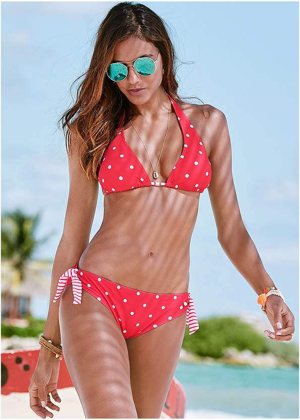 Sash Tie Bottom,Halter Bikini Top,Underwire Bikini Top,Enhancer Triangle Top ,Goddess Enhancer Push Up Halter Top,Jillian Underwire Top,Deep V Beach Cover-Up