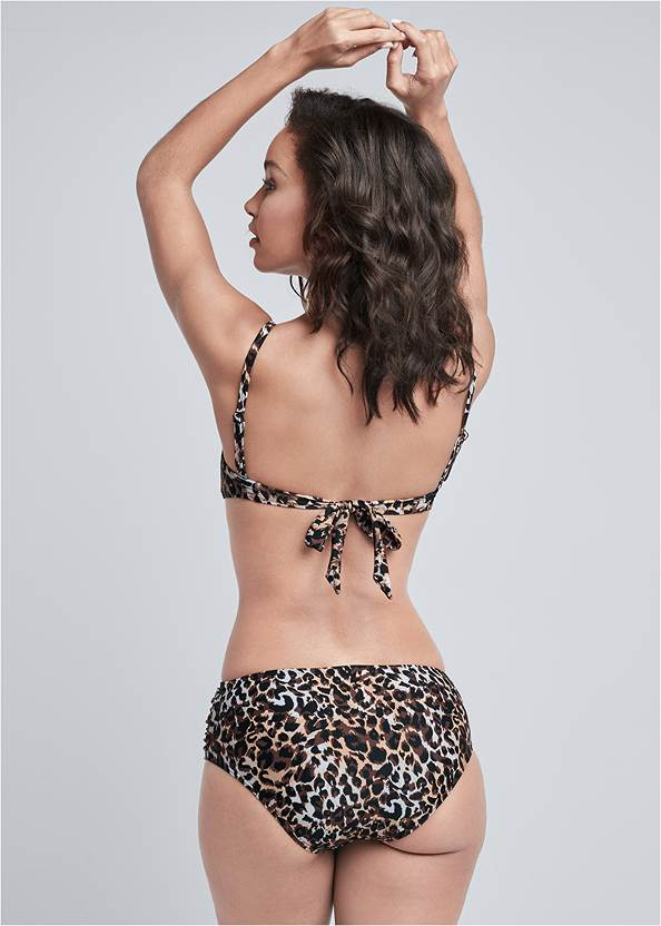 Back View Underwire Full Bra Top