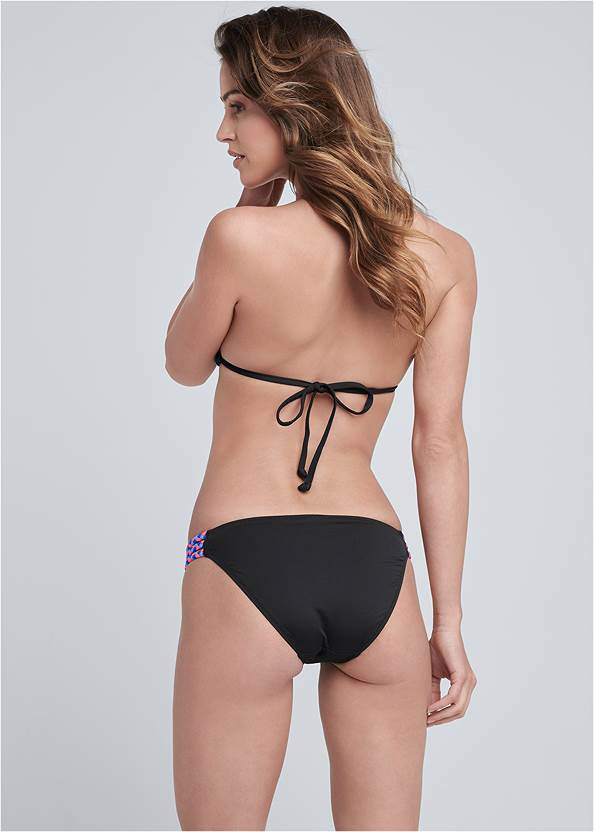 Back View Braided Low Rise Bottom