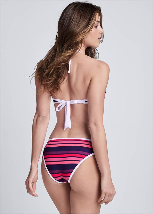 Back View Bandeau Bikini Top