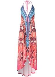 Alternate View High Low Printed Dress