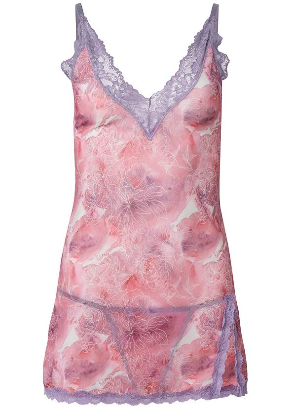 Ghost with background  view Floral And Lace Chemise